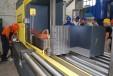 Монтаж на ново оборудване – лентоотрезна машина за изпълнение на демонтажни дейности