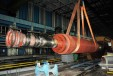 Демонтаж и транспортиране до площадка за временно съхранение на ротор на Турбогенератор – 2, 22.07.2014 г.