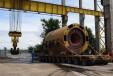 "Транспорт на статор на Турбогенератор – 1 до площадка на пристанище на АЕЦ ""Козлодуй"",  27.06.2014 г."